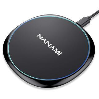 NANAMI Qi急速 ワイヤレス充電器 iPhone 11 P...