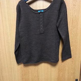 首ざっくりセーター