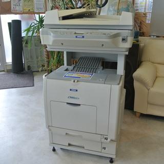 EPSON コピー機 LP-M5500F 複合機 通電確認OK