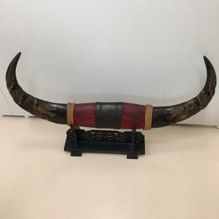 水牛の角 置物