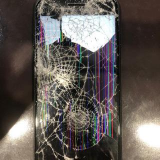 まるで弾痕!?こんなiPhoneでも修理できます!