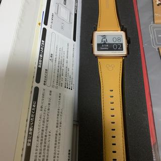3/2【未使用】エプソン smart canvas ディズニーモデル 10000円(替バンド付) - 浦安市