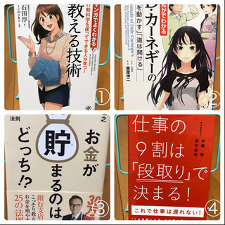 ビジネス本&自己啓発本★ALL 1冊200円★