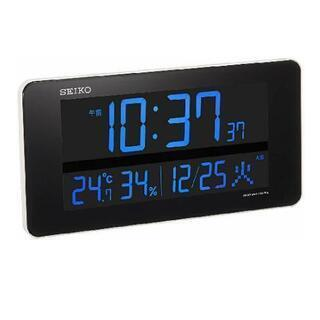 SEIKO電波デジタル時計 交流式