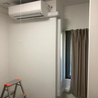 広島県内でのエアコン工事承ります。