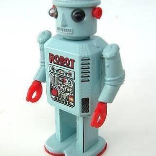 懐かしロボット TIN TOY ROBOTシリーズの中より…
