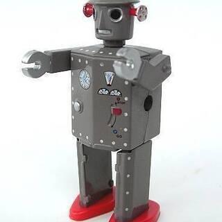 懐かしロボット TIN TOY ROBOTシリーズの中よりアトミ...