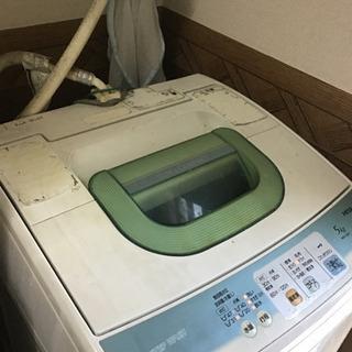 0円!HITACHI製洗濯機