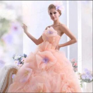 ウエディング 結婚式 カラードレス