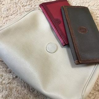 トラサルディ セカンドバッグとお財布