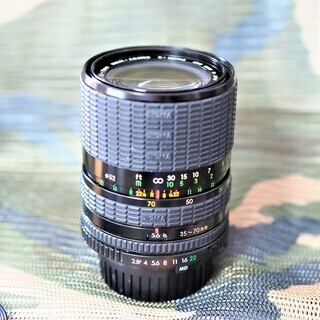 シグマ ズームレンズ 1:2.8~4 f=35~70mm
