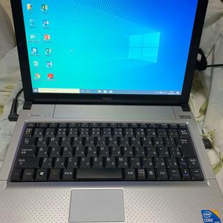 ① 爆速 nec モバイルノートパソコン ノートパソコン Win...