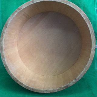 中古 寿司桶 フタ付き すし桶 飯台 外寸54.3  内寸50  深さ23  (cm) - 売ります・あげます