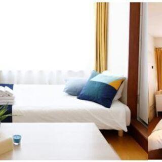 【敷金礼金ナシ】名古屋城すぐ近く ワンルーム2部屋家具エアコン付き