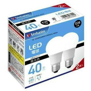 新品 三菱電機 LED電球 40W相当 2個セット 新生活 照明...