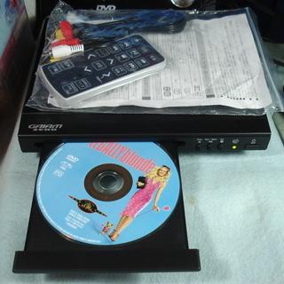 小型DVDプレーヤー DVP-C700(リモコン付/元箱入り)動作品