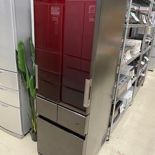 17年製 SHARP 4ドア冷蔵庫 SJ-GT42C-R どっちもドア