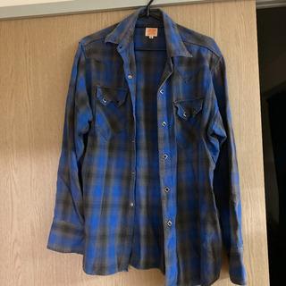 SUGAR CANE ネルシャツ