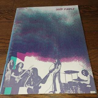 DEEP PURPLE 1972年初来日公演パンフレット