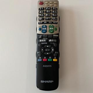 シャープAQUOSテレビリモコン