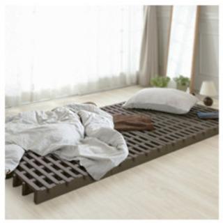 湿気対策!ジョイント式 すのこベッド
