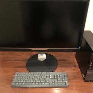 dellのデスクトップPC フルセット
