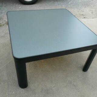 山善 カジュアルこたつ(75cm正方形) ブラック ESK-754