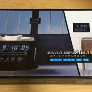 デジタル時計 ブラック(受け取り者決定)