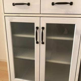 【食器棚】LUFFY FFLUK90-60GH