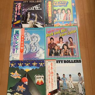 ベイシティローラーズのLP盤レコード