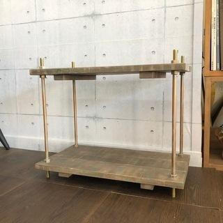 【展示品処分特価】 アイアンフレームラック 幅50cm 通常タイプ