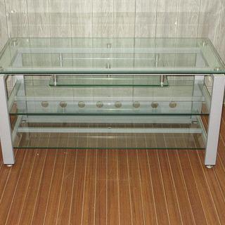 stp-0069 テレビ台 ガラス天板 強化ガラス ガラス…