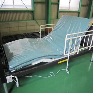 【中古】 介護ベッド フランスベッド製(超低床)3モーター