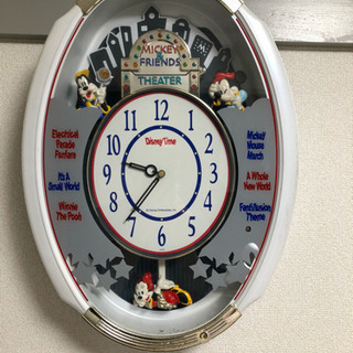 ディズニー カラクリ時計 セイコー ジャンク品