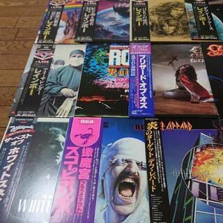 洋楽 ヘビメタ レコード 17枚セット 1970年代~1980年代