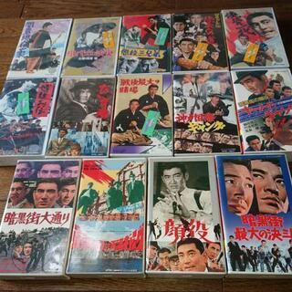 高倉健  出演映画 VHS 14本セット