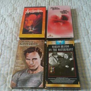 マーロン・ブランド  名作VHS  4本セット 米国版