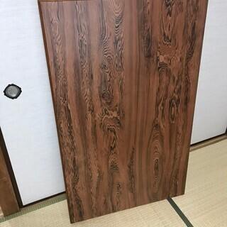 美品 希少 天然ポプラ 無垢一枚板 最大幅121cm!ローテーブ...