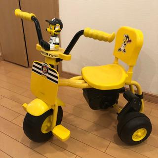 受取者が決定いたしました!ジャンク品 阪神タイガース三輪車