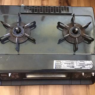 パロマ ガスコンロ 水なし両面焼き PA-340WA-2R