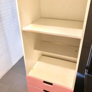 IKEA stuva ストゥヴァ ピンク イケア 本棚 収納棚 子供
