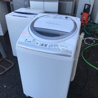 TOSHIB 7キロ洗濯機 乾燥付き