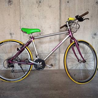 レア色 ブリヂストン マウンテンバイク 自転車 27インチ