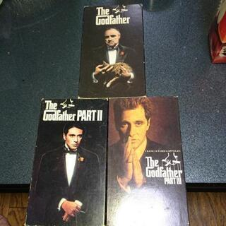「ゴッドファーザー」全巻セット VHS 米国版