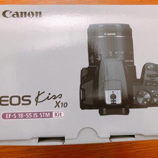 Canon kissx10 一眼レフカメラ 新品未使用