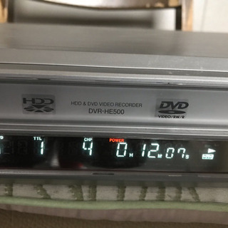 三菱 DVR-HE500 HDD&DVDレコーダー