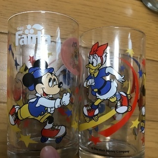 Disney Fanta グラス
