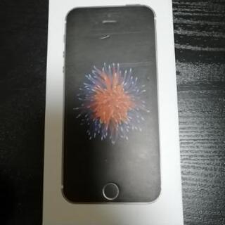 iphoneSE 64GB  スペースグレイ
