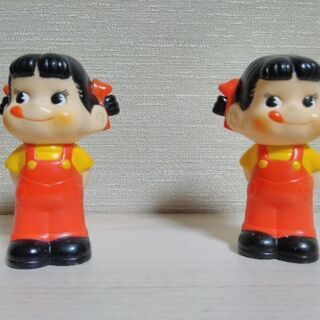 不二家 ペコちゃん ソフビ人形