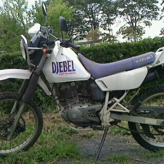 スズキ ジェベル125  不動車  取りに来てくれる方  バイク...
